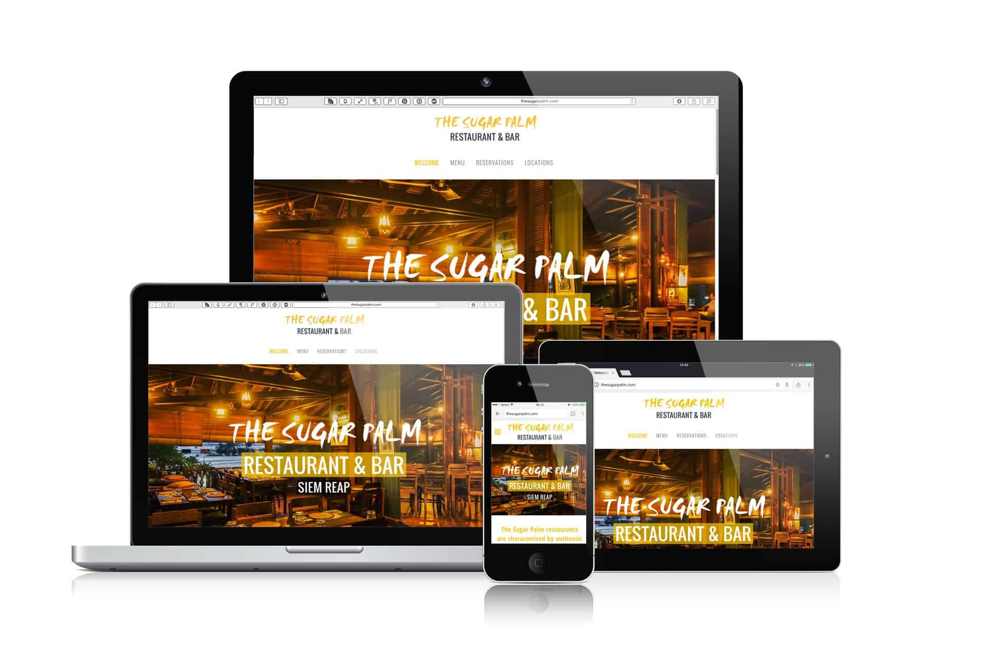 The Sugar Palm Restaurant and Bar, Siem Reap and Phnom Penh. Web Design & Development by Grantourismo Media, a Full Service Digital Media Agency.